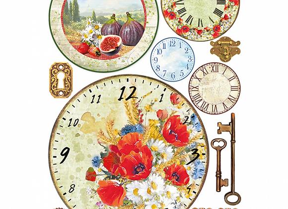 CIAO BELLA - Rice Paper - Tuscan Clocks