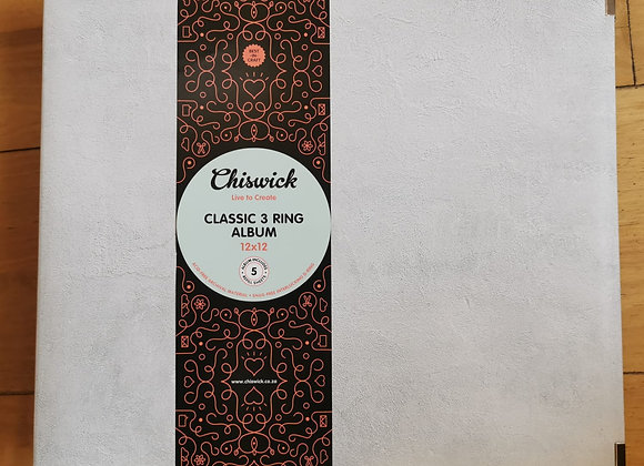 CHISWICK - 3 Ring Album - Cement Grey