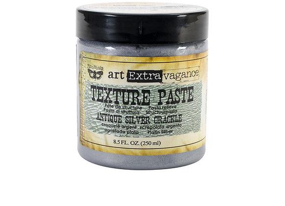 PRIMA - Crackle Texture Paste - Antique Silver