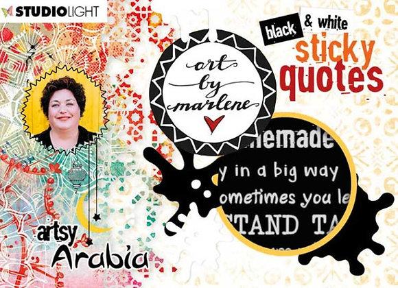 ART BY MARLENE - Sticker Book - Artsy Arabia