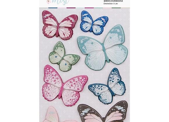 ROSIES STUDIO - Butterflies - Indigo Mist