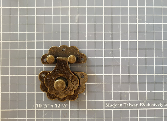 FABSCRAPS - Metal Finding - Fancy Latch
