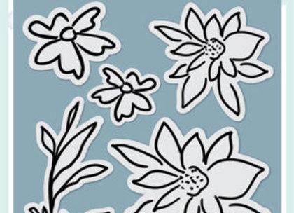 PENELOPE DEE - Stamp - Alyssia Flowers