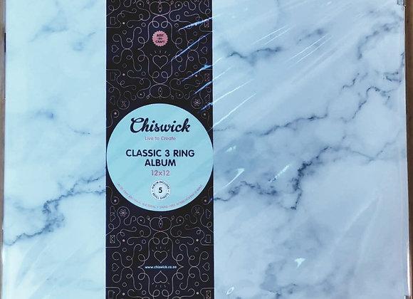 CHISWICK - 3 Ring Album - Marble