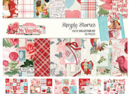 SIMPLE STORIES - My Valentine Collection Kit
