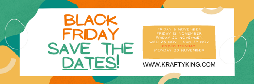 Colorful Black Friday Discount Email Hea