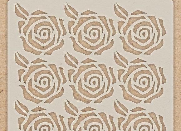 CELEBR8 - Stencil - Roses