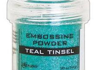RANGER Embossing Powder - Teal Tinsel
