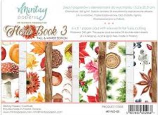 MINTAY - 6x8 Paper Pad - Flora Book 3