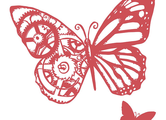 COUTURE CREATIONS - Stamp - Butterflies