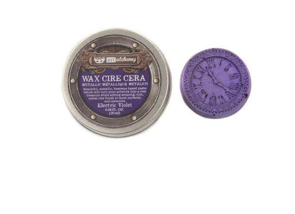 PRIMA - Finnabair Metallique Wax - Electric Violet