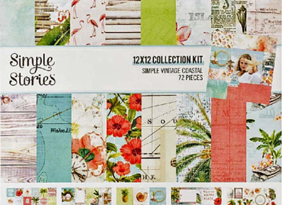 SIMPLE STORIES - Collection Kit - Vintage Coastal