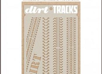 CELEBR8 - Stencil - Dirt Track