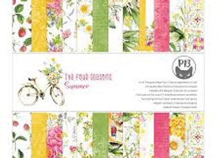PIATEK 13 - Paper pad - The Four Seasons (Summer)