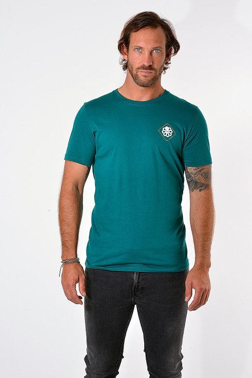 JONSENISLAND - T-SHIRT CLASSIC BIG LABEL - Green