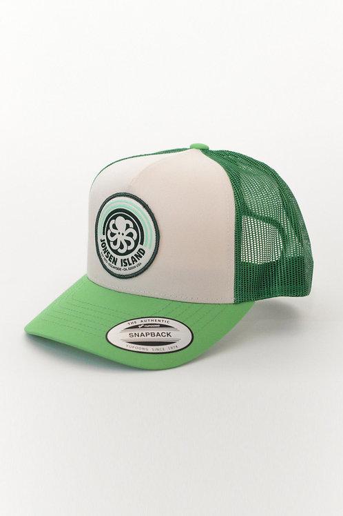 JONSENISLAND - Trucker Hat RAINBOW - Green