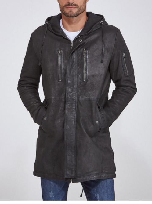 GOOSECRAFT - Manteau en cuir