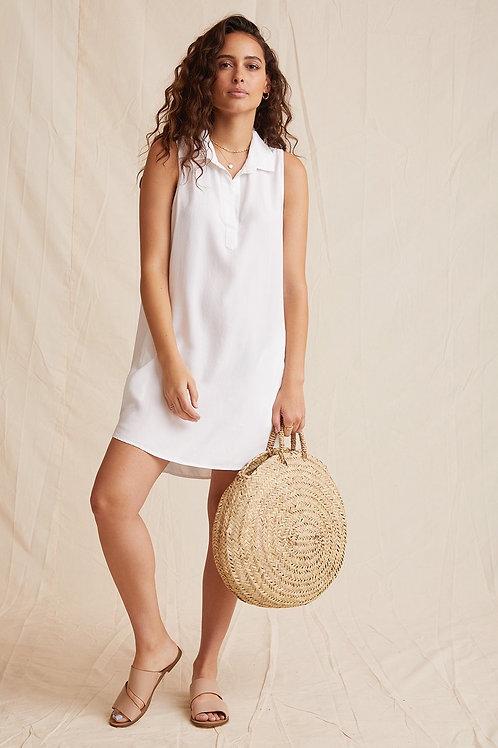BELLA DAHL -  A-LINE DRESS - White