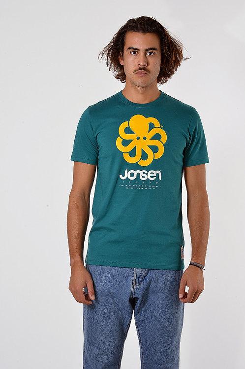 JONSENISLAND - T-SHIRT CLASSIC BIG GREEN