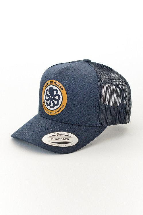 JONSENISLAND - Trucker Hat LOGO - Royal