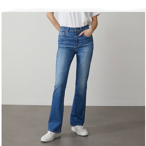 CLOSED - LEAF - POWER STRETCH BLUE DENIM