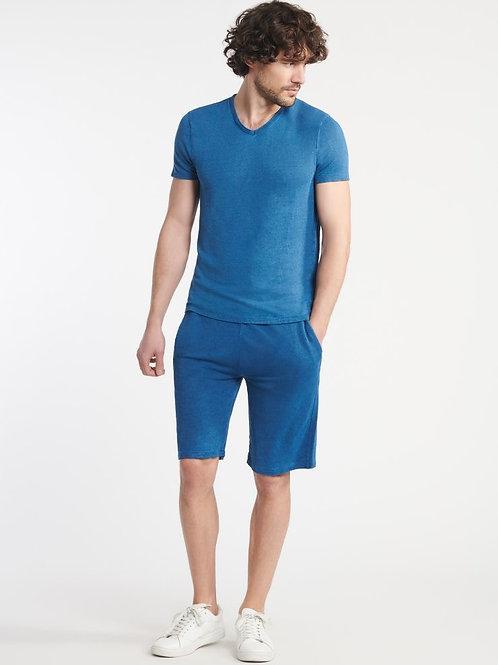 MAJESTIC - T-SHIRT -Blue