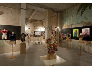 """Exposition """"PARURES"""" à la Galerie LAME à Marseille."""