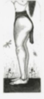 saffron gaterer of feale bull-leaper, etcing, pantazistselios