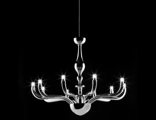Melina Deluxe Chandelier argento.png