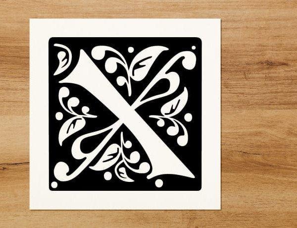 My contribution of letter X