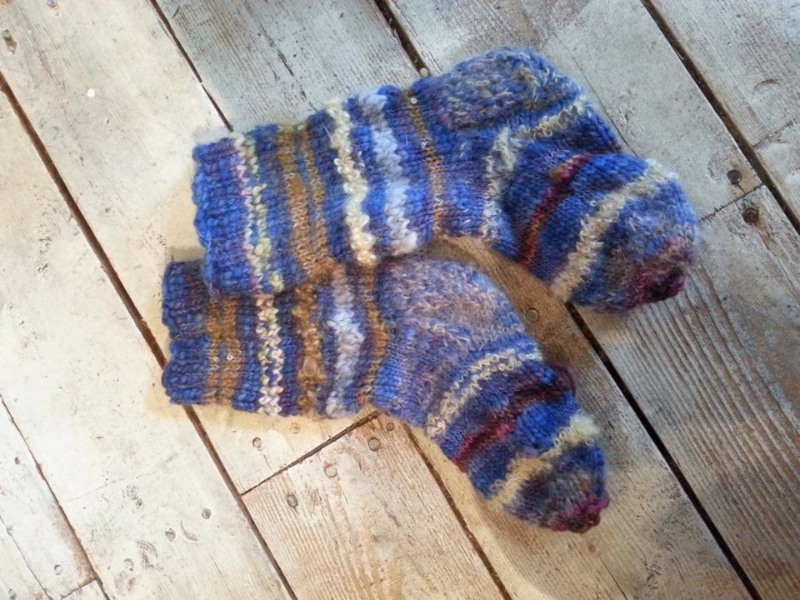 Leola's Studazy Socks - Student Work