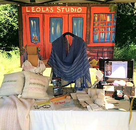 weaving and knitting classes at Leola's studio
