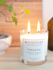 Freedom Candle Regular $25