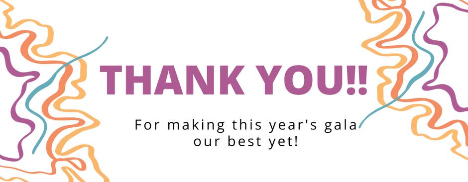 A Gala Thank-You