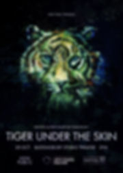 TIGER_UNDER_THE_SKIN_A2_POSTER newest (1