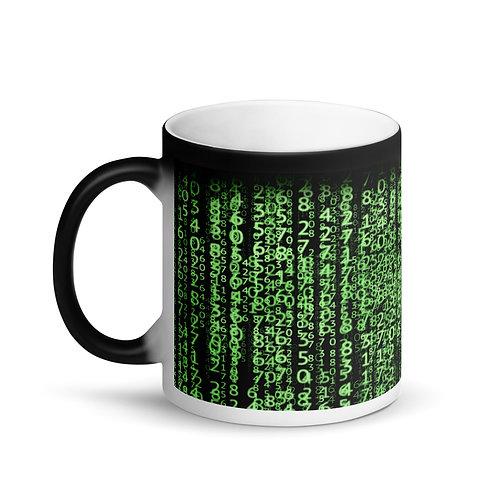 "Matte Black Magic Mug ""Matrix"""