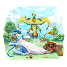 Picnic with the Guardians