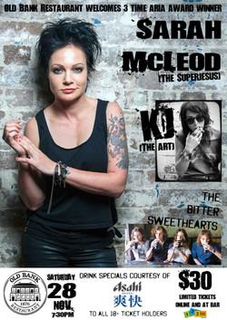 Sarah McLeod A1 Poster