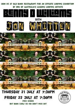 Benny D Williams and Jon Whitten