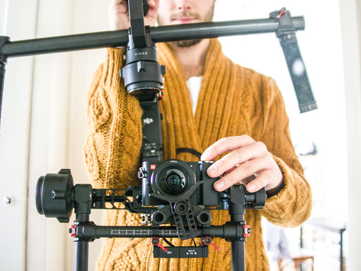 What makes a professional videographer?