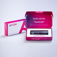 Avon £10 Kit including Lipstick and Paper Brochures