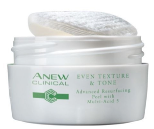 Avon Anew Clinical Even Texture & Tone Advanced Resurfacing Peel with Multi-Acid 5