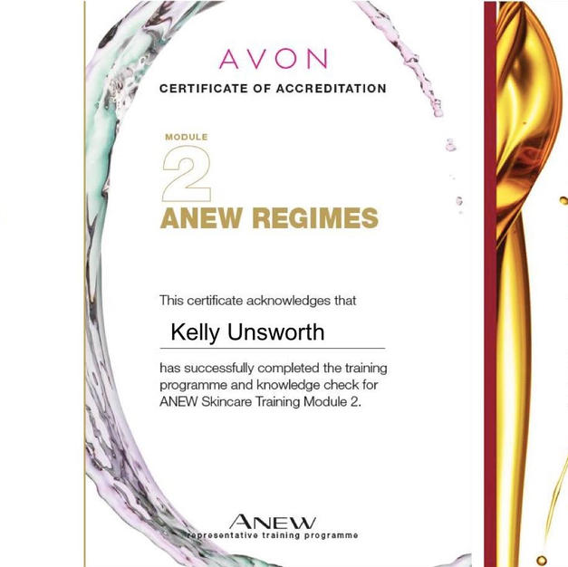 Anew Skin Care Training July 2019