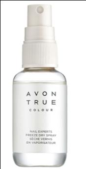 Avon True Nail Experts Freeze Dry Spray
