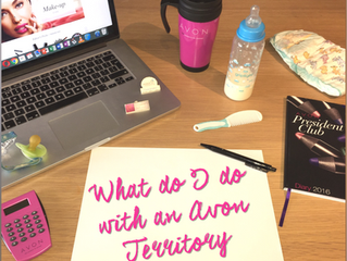 Managing Your Avon Territory - Quick Step Guide