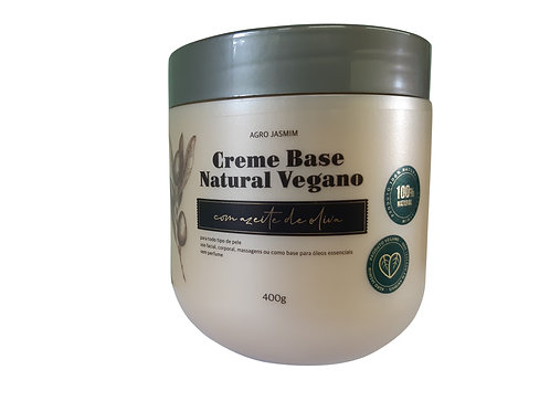 Base creme natural vegano