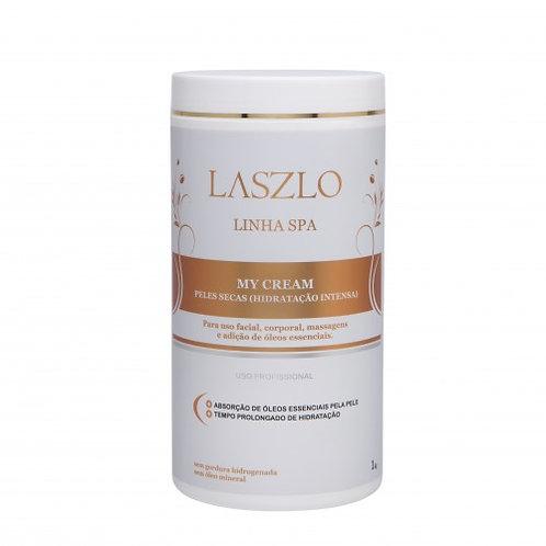 Base creme My cream Laszlo para pele seca 1kg