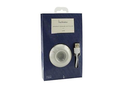 Difusor Eletrico de Óleos Essenciais em Porcelana com USB