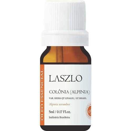 óleo essencial Colônia (Alpinia) qt Linalol 5ml