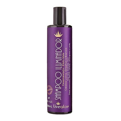 Shampoo Iluminador de Aloevera 300 ml
